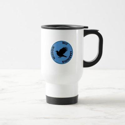Harry Potter | RAVENCLAW™ House Traits Graphic Travel Mug