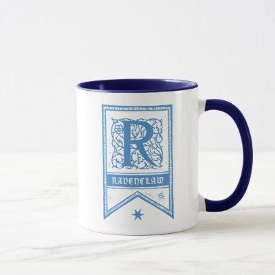 Harry Potter | Ravenclaw Monogram Banner Mug