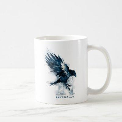 Harry Potter | RAVENCLAW™ Raven Watercolor Coffee Mug