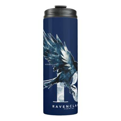 Harry Potter | RAVENCLAW™ Raven Watercolor Thermal Tumbler