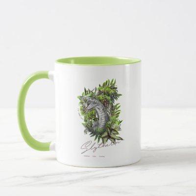 HARRY POTTER™ SLYTHERIN™  Floral Graphic Mug