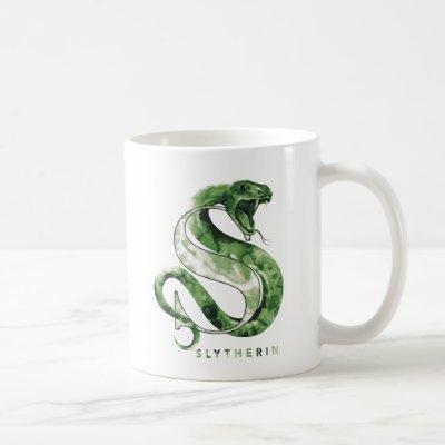 Harry Potter | SLYTHERIN™ Snake Watercolor Coffee Mug