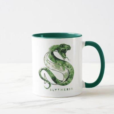 Harry Potter | SLYTHERIN™ Snake Watercolor Mug