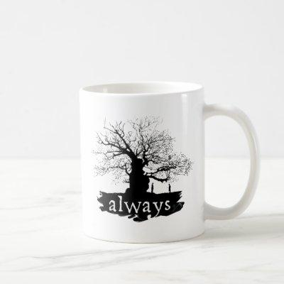 Harry Potter Spell | Always Quote Silhouette Coffee Mug