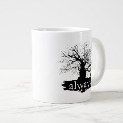 Harry Potter Spell | Always Quote Silhouette Large Coffee Mug