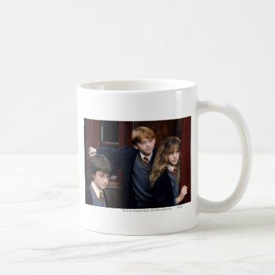 Harry, Ron, and Hermione Coffee Mug