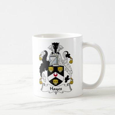 Hayes Family Crest Coffee Mug
