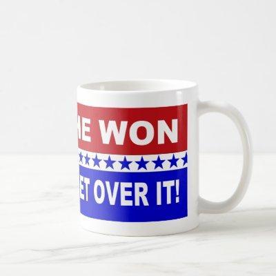 He Won Get Over It! Coffee Mug