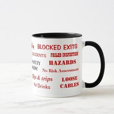 Health and Safety Swear Words Mug
