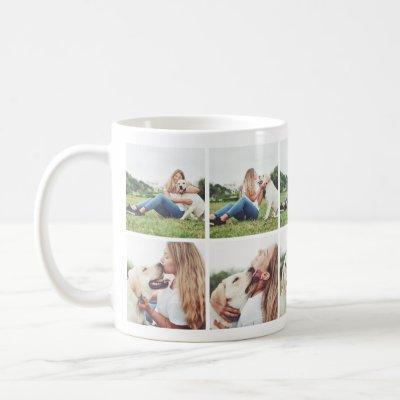 Heartwarming Dog Lovers Photo Collage Mug