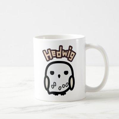Hedwig Cartoon Character Art Coffee Mug