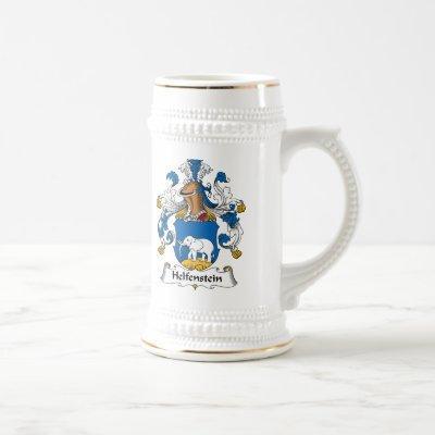 Helfenstein Family Crest Beer Stein