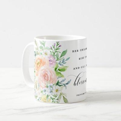 Her Children Rise Up & Call Her Blessed Coffee Mug