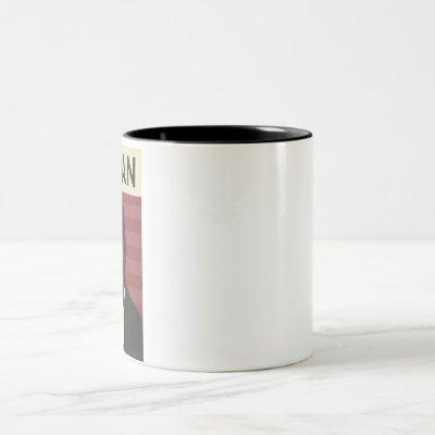 Herman Cain Two-Tone Coffee Mug