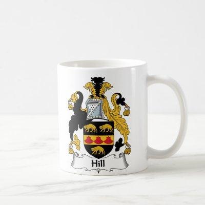 Hill Family Crest Coffee Mug