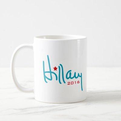 Hillary Clinton Signature Coffee Mug