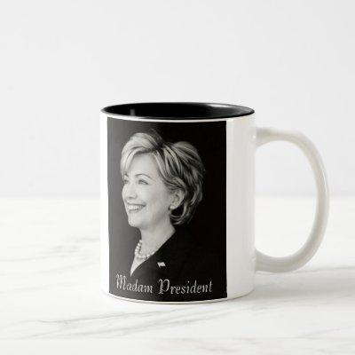 Hillary Madam President Mug