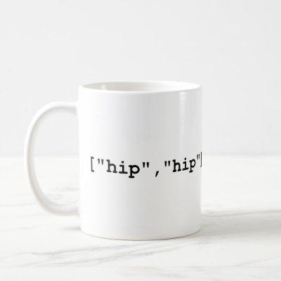 Hip Hip Hooray Programming Array Coffee Mug