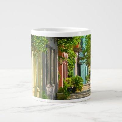 Historic Streets Urban Charleston SC Souvenir Giant Coffee Mug