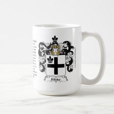 Hite, the Origin, the Meaning and the Crest Coffee Mug