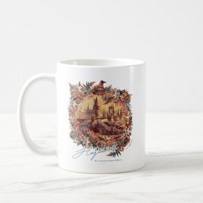 HOGWARTS™ CASTLE Floral Graphic Coffee Mug
