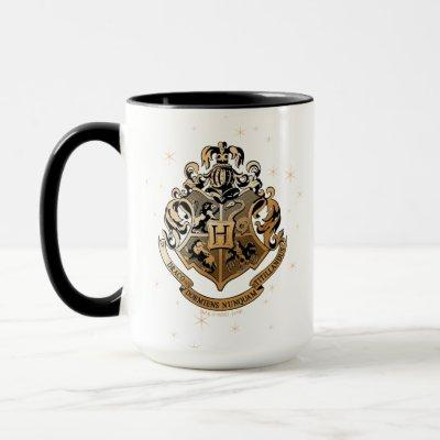 HOGWARTS™ Glistening Golden Crest Mug