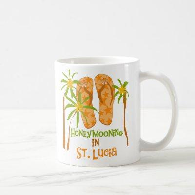 Honeymooning in St. Lucia Mug