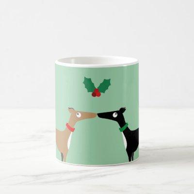 Hound kiss coffee mug