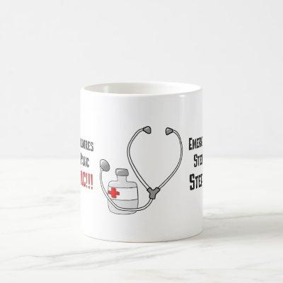 How Doctors Respond to Your Emergency Coffee Mug