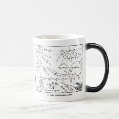 How see the world [LEFT HANDED] Magic Mug