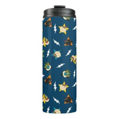 How To Train Your Dragon   Dragon Badges Pattern Thermal Tumbler