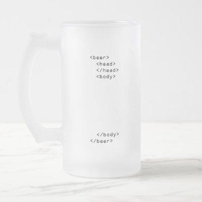 HTML Beer Mug