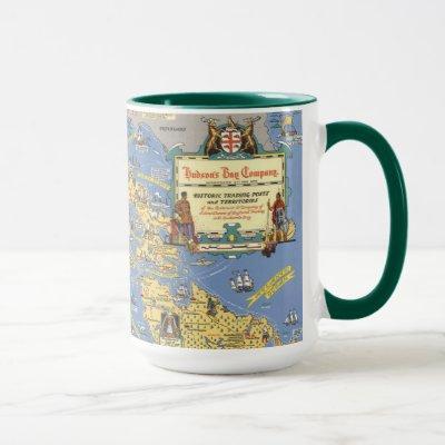 Hudson's Bay Company - Map of Canada Mug