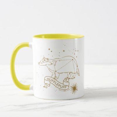 HUFFLEPUFF™ Graphic Constellation Mug