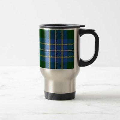 Hughes Tartan Travel Mug
