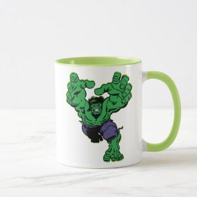Hulk Retro Grab Mug