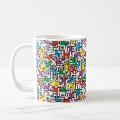 Human Circuit Board Coffee Mug