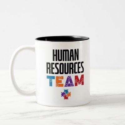 Human Resources Team HR Two-Tone Coffee Mug