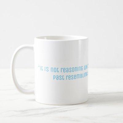 Hume Philosophy Quote Coffee Mug
