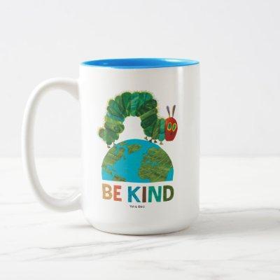 Hungry Caterpillar | Be Kind Two-Tone Coffee Mug