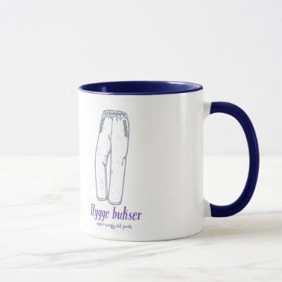 Hygge bukser: Celebrate old comfy pants! Mug