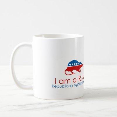 I am a R.A.T: Republican Against Trump Coffee Mug