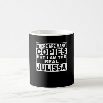 I Am Julissa Funny Personal Personalized Gift Coffee Mug