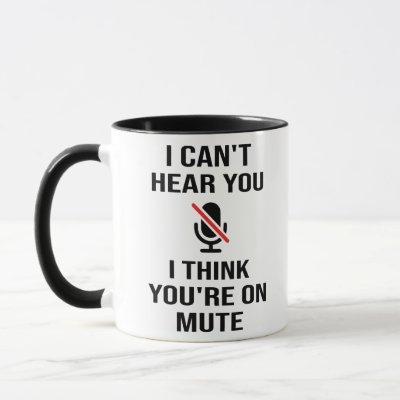 I can't hear you, I think you're on mute Mug