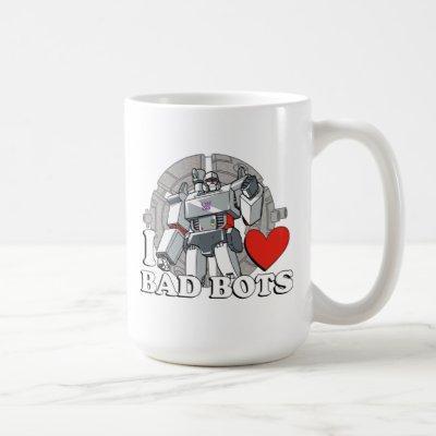I Heart Bad Bots Coffee Mug
