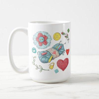 I Love Crafting Coffee Mug
