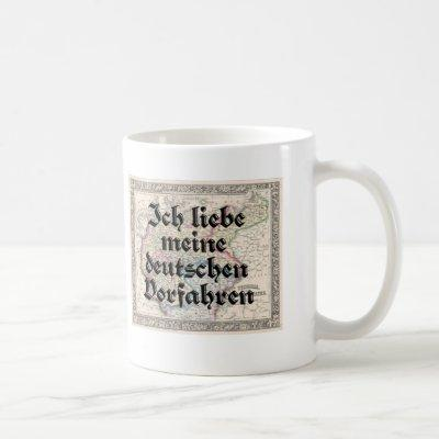 I Love My German Ancestors Mug
