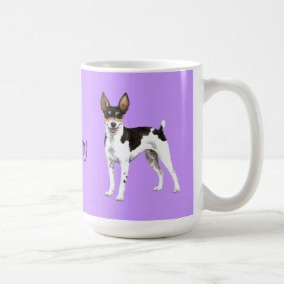 I Love my Rat Terrier Coffee Mug