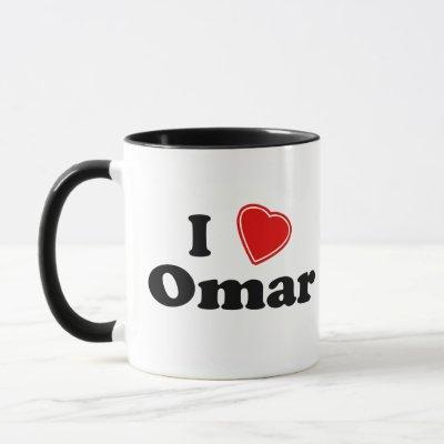 I Love Omar Mug