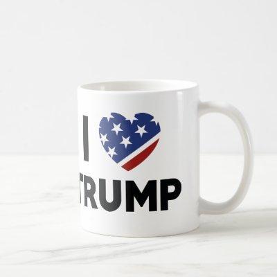 I Love Trump Coffee Mug